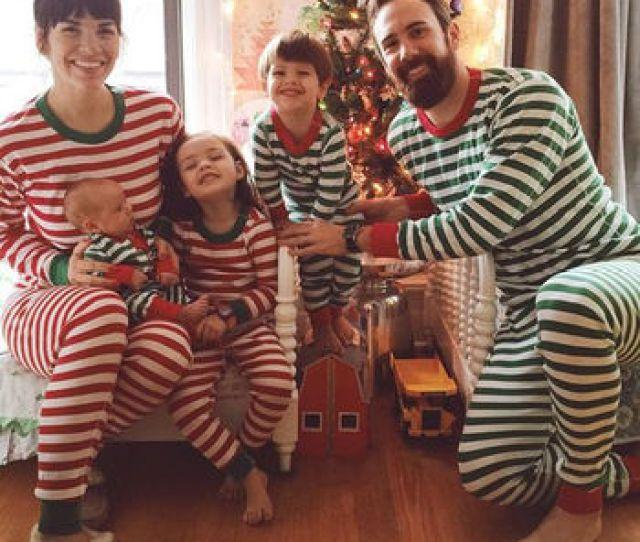 Women Men Baby Kids Christmas Sleepwear Pajama Set Striped Cotton Christmas Clothes Set Christmas Family Matching Outfits Buy Pajamasleepwearwholesale