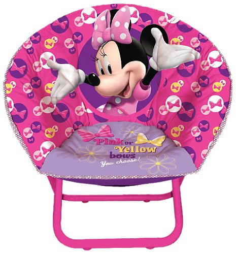 saucer chair replacement cover bride and groom cheap find deals on line at get quotations disney minnie mouse toddler