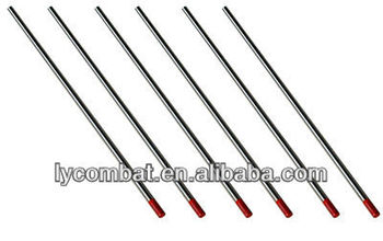 Wt20 Ground Surface Thoriated Tungsten Electrode Rods