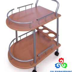 Kitchen Trolley Cart How To Paint Cabinets Grey Movable Wood 2 Tire Storage For Sale Buy