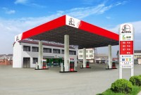 Special Steel Structure Prefab Gas Station Canopy Design ...