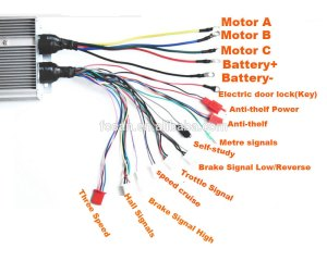 Higher Quality 48v 90a 2200w 36 Mosfet Brushless Dc Motor Speed Controller 30*116*6cm  Buy Dc