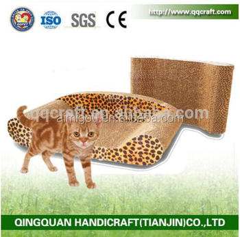 cat scratcher lounge kitty