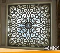 Decorating  Wrought Iron Window Decor