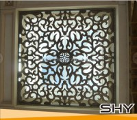 Decorative Square Wrought Iron Window Decor - Buy Wrought ...