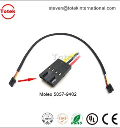molex 5057 9402 automotive custom cable assembly wire harness [ 1000 x 1000 Pixel ]