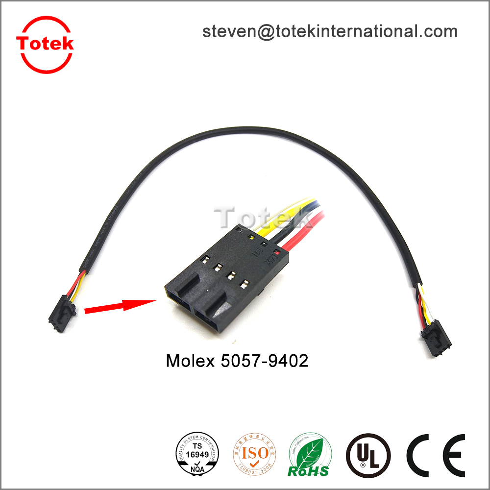 medium resolution of molex 5057 9402 automotive custom cable assembly wire harness