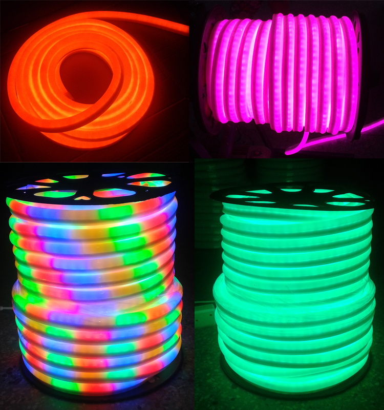 Copper Line Led Neon Rope Light Ip65 Outdoor Led Strip