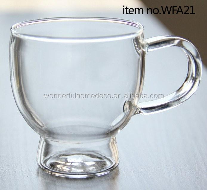 Wholesale Vintage Tea Cups/glass Tea Cups With Handle/buy