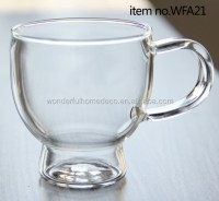 Wholesale Vintage Tea Cups/glass Tea Cups With Handle/buy