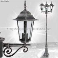 Cast Aluminum Antique Street Lamp Post - Buy Lamp Post ...
