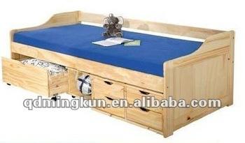 Box Sofa Bed Night And Day Portofino Futon Sofabed Honey Oak Natural Rosewood Teak TheSofa