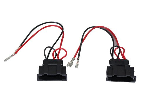small resolution of get quotations radio stereo speaker wire harness adapter plug for vw seat passat golf polo