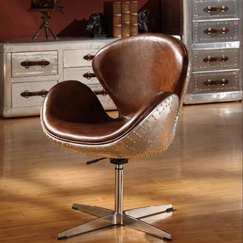 arne jacobsen swan chair inflatable pool with cup holder aviator aluminium spitfire vintage leather