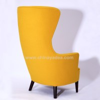 Colorful Fabric Chair High Wing Back Chairs