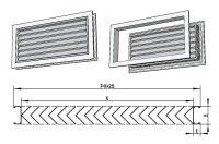 """Door Vents & Vertical Door With Louvered Vents""""""""sc"""":1""""st ..."""
