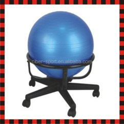 Gym Ball Chair World Market Outdoor Chairs Half Fit Fitness Yoga Exercise Pilates Balance Buy