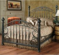Luxury French Style Beds,Round Bed,Metal Bed (bf10