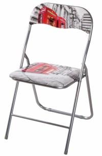 Zhangzhou Living Room Furniture Metal Folding Chairs With ...
