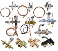 Furnace Gas Burner And Control Parts/adjust Pilot Burner ...