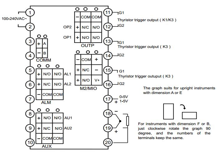 Yudian Ai-516 Industrial Automation Digital Temperature