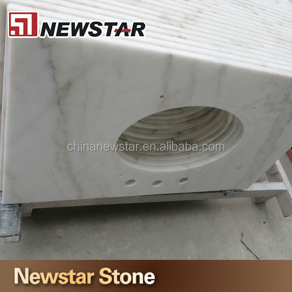 Great Precut Est Strong White Marble Countertops