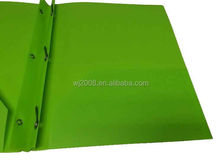 Poly Portfolio 3 Prongs Pocket Folders For Us Markets Letter Size  Buy Poly Portfolio 3 Prongs