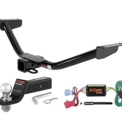 get quotations curt class 3 trailer hitch tow package with 2 ball for 2010 2012 acura [ 1024 x 1024 Pixel ]