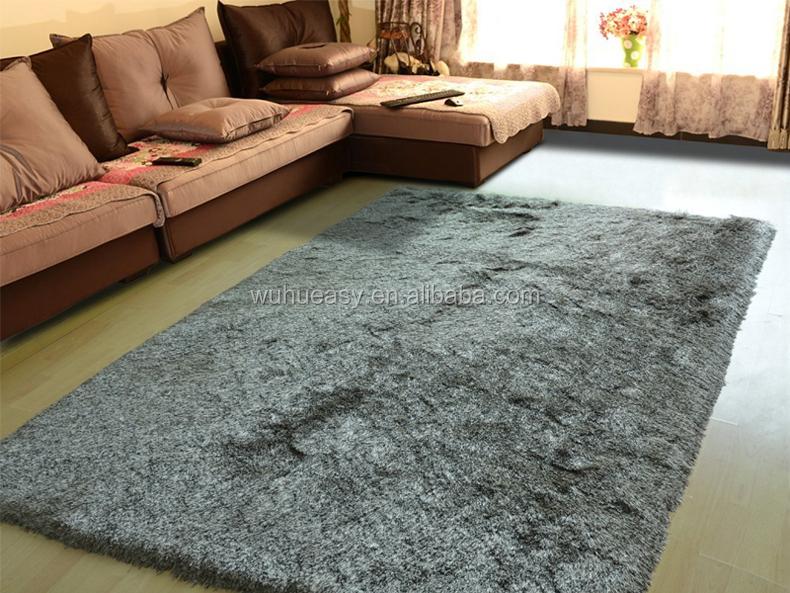 living room floor mats elegant rooms decor hairy silk luxury mat 150d polyester shiny shag rugs