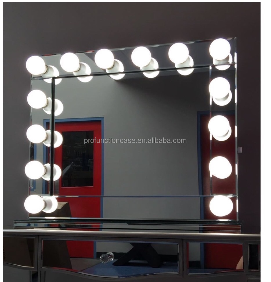Australia Popular Hollywood Makeup Mirror With Led Lights