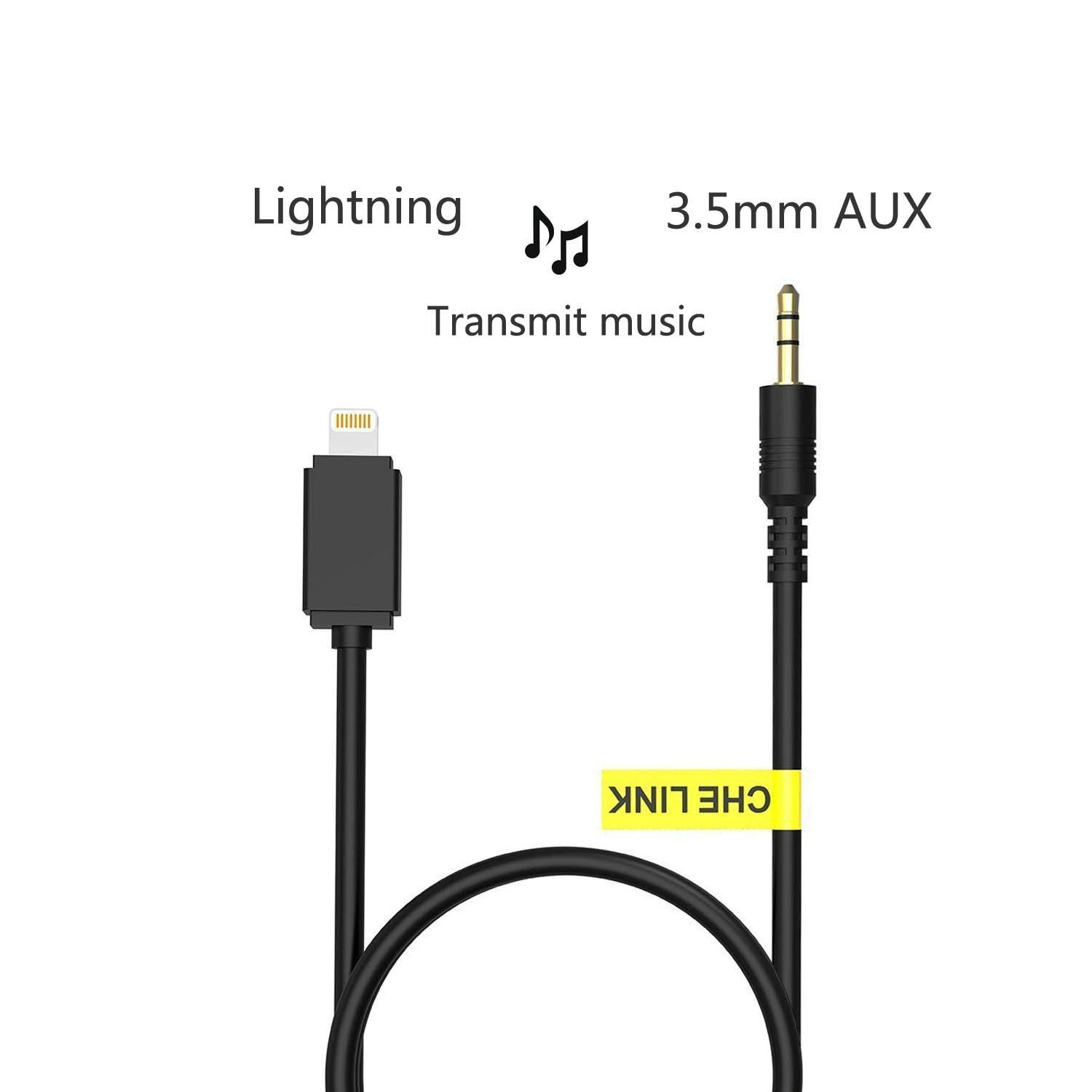 Hot Item 8 Pin Naar 3 5 Mm Aux Kabel Headphone Jack Audio