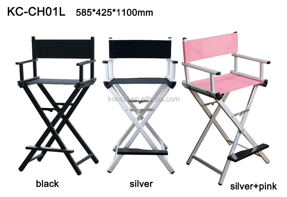 Portable Lightweight Aluminum Director Chair,Cheap Folding