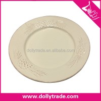Customized White Printed Dinner Plates For Weddings - Buy ...