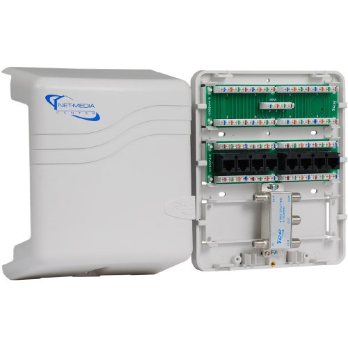 small resolution of get quotations icc mini combo voice data video structured wiring enclosure