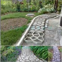 Driveway Paving Brick Path Maker Patio Concrete Slabs ...