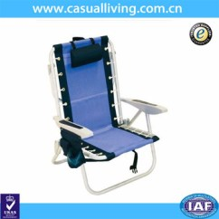 Backpack Beach Chair Target Godrej Revolving 7032 Camping Bule Chairs Folding Aluminium Frame