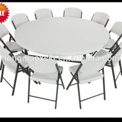 Cheap Dining Chair High Back Cushion 6ft Plastic Folding Round Table,banquet Table,big Table,cheap ...