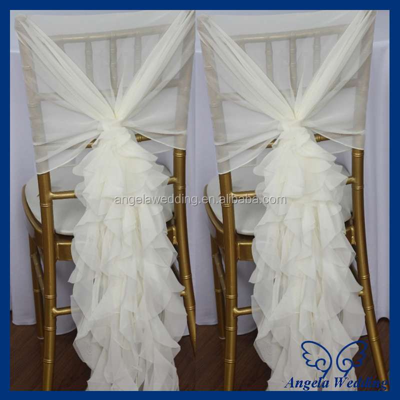 where to buy cheap chair covers modern steel design ch090b popular fancy organza wedding wholesale curly willow - ...