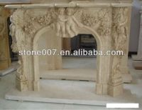 Baby Angel Stone Fireplace - Buy Artificial Stone ...