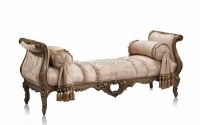 Bisini Italian Bedroom Furniture Fabric Chaise Lounge ...