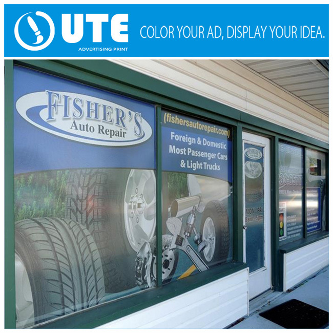 Shop Glass Door Promotion Removable Sticker Window Vinyl