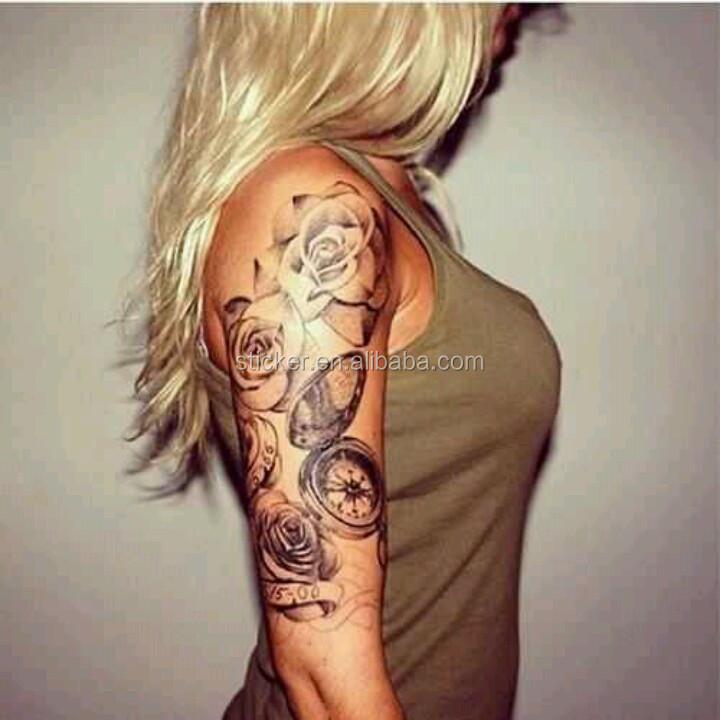 Transferible Pegatinas De Tatuajes En El Cuerpo Tatuaje Temporal