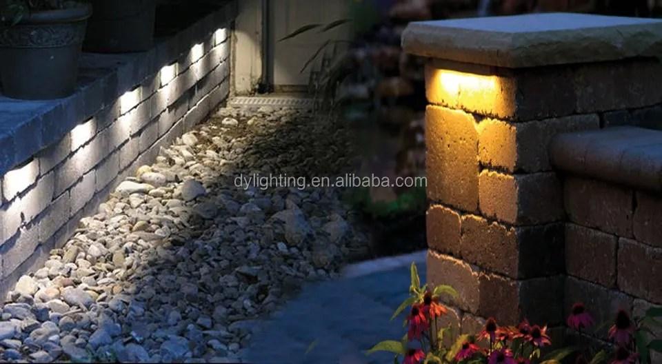 12v led rail stone light 3 linear led hardscape lighting with 6 low voltage led deck light buy low voltage led deck light led hardscape