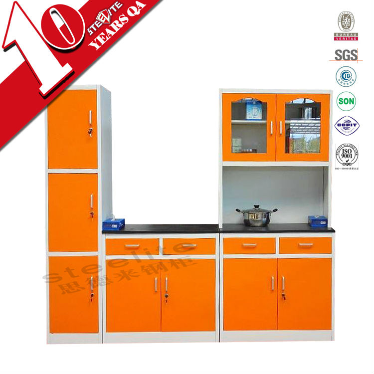 orange kitchen chairs appliances package deals modern high gloss cabinet knock down home furniture corner cupboard