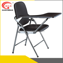 Portable Study Chair And 1 2 Slipcover Educational Furniture Foldable With Writing Pad Ah002a