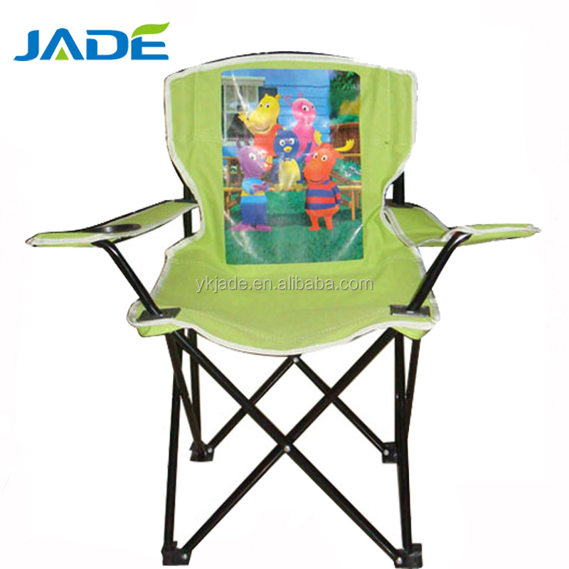 kids sports chairs lime green kitchen portable camping chair personalized high quality branded beach metal