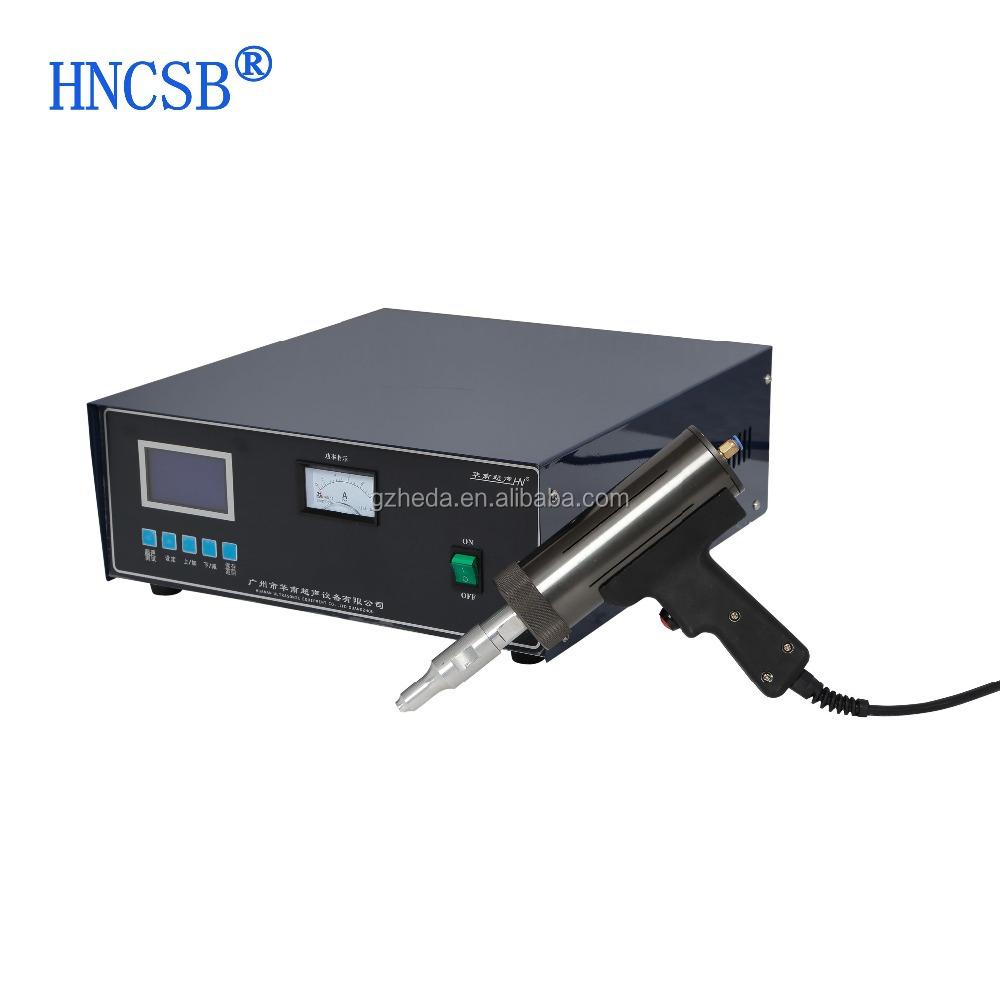 hight resolution of handheld welding machine ultrasonic spot welder portable plastic welding machine 300w