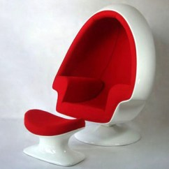Mid Century Egg Chair Wood Computer Furniture Foshan Chairs With Ottoman For Living Room