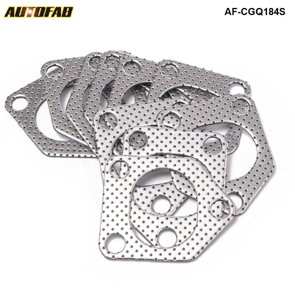 AUTOFAB-10 unids/lote de aluminio de grafito Turbo a junta