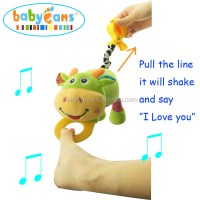 "Babyfans 2017 most popular baby stroller toys can say ""I ..."